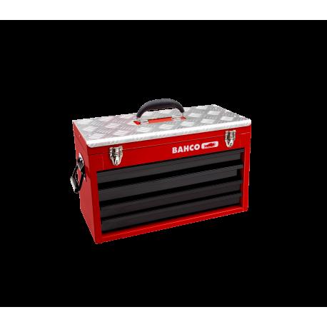 Bahco 1483KHD4RB Four Drawer Heavy Duty Metallic Tool Case
