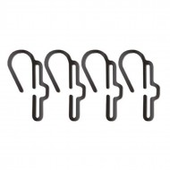 Unilite PS-HC Hard Hat/Helmet Clips for Head Torch (Pack of 4)