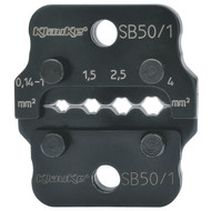 Klauke SB501 Crimping dies SB 50, 0.1-4 mm²