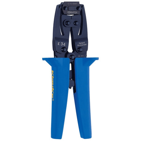 Klauke K34 Crimping tool for cable end-sleeves and twin cable end-sleeves 6 - 16 mm²