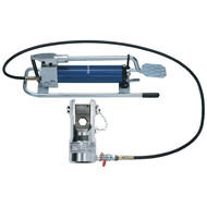 Klauke HK45 Hydraulic crimping tool with foot pump 120 - 1000 mm²