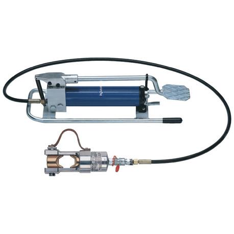 Klauke HK252 Hydraulic crimping tool with foot pump 16 - 625 mm²