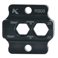 Klauke R505 Crimping dies R 50, 16 - 25 mm²