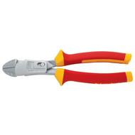 Klauke KL046200IS VDE Lever power side cutter, 200 mm