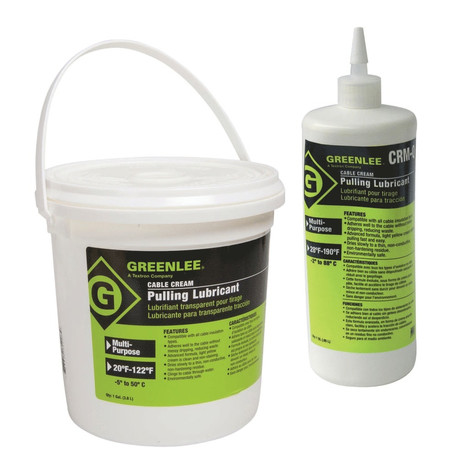 "Klauke 50352075 Cable Cream""¢ cable puller lubricant, 0,95 l"