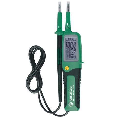Klauke 52049407 GT-85NE Bipolar Voltage Tester with LCD Display