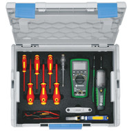 Klauke LBOXXKLB18 L-BOXX 18 Piece Electricians Equipment Kit