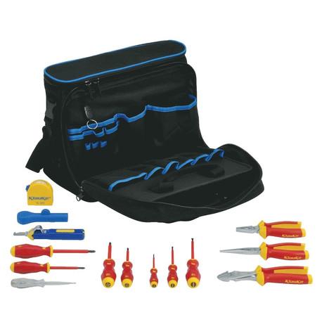 Klauke KL905B15 Engineers Professional Case with 15 Tools