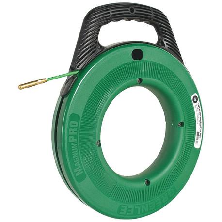 Klauke 50357476 76 Metre MagnumPRO Fibreglass Fish Tape (4.8mm Diameter)