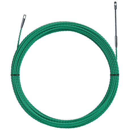 Klauke 52055295 25 Metre Green Polyester Fish Tape (4.5mm Diameter)