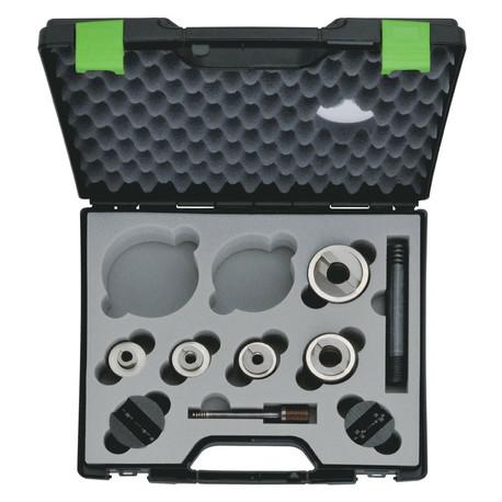Klauke 52055439SET Five Piece Speed Punch Set ISO 16/20/25/32/40