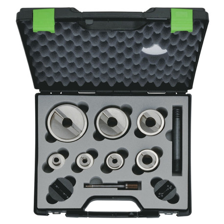 Klauke 52055440SET Seven Piece Speed Punch Set ISO 16/20/25/32/40/50/63