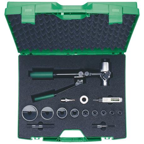 Klauke 52034233 90° Hand Hydraulic Punching Set ISO 16 - 40