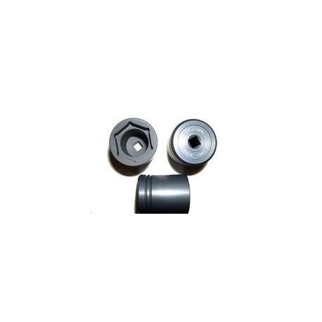 DMC BT-J-128AL Jam Nut Socket, Aluminum