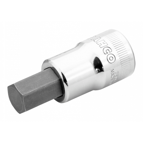 "Bahco 7809M-12 12mm x 1/2"" Socket for Hex Head Screws"