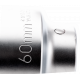 "Bahco 9500SM-60 60mm x 1"" Hex Socket"