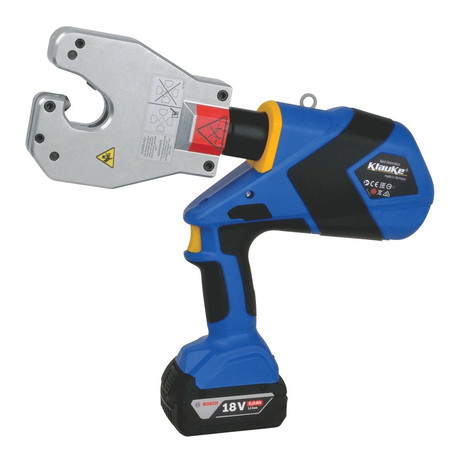 Klauke EK60VPCFB 10mm² - 240mm² Bosch Battery-Powered Hydraulic Crimping Tool