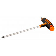 Bahco 900T-100-200 Hex Screwdriver with T-Handle Grip 10 mm x 185 mm