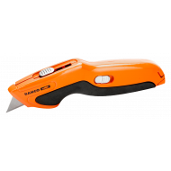 Bahco KBRU-01 Retractable Utility Knife with TPR Grip