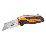 Bahco KBTU-01 Sports Foldable Utility Knife with Twin Blades