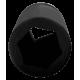 "Bahco K9506M-55 55mm x 1"" Deep Impact Hex Socket"