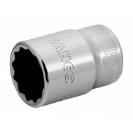 """Bahco 7800DZ-1.1/8 1 1/8"""" x 1/2"""" Bi-Hex Socket"""
