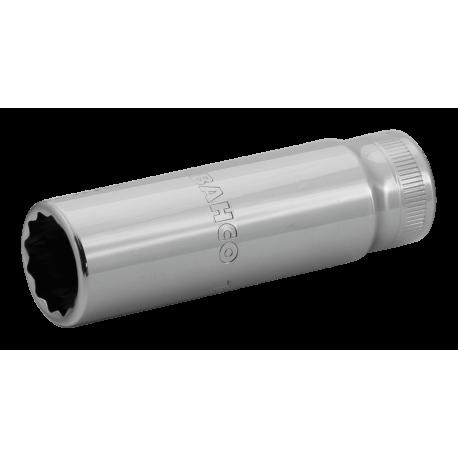 "Bahco 7805DM-12 12mm x 1/2"" Deep Bi-Hex Socket"
