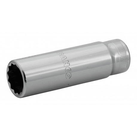 "Bahco 7805DM-18 18mm x 1/2"" Deep Bi-Hex Socket"