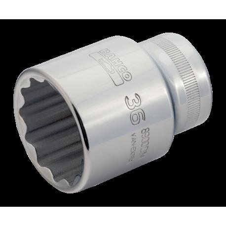 "Bahco 8900DM-38 38mm x 3/4"" Bi-Hex Socket"