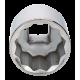 """Bahco 8900DZ-1.11/16 1 11/16"""" x 3/4"""" Bi-Hex Socket"""