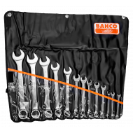 Bahco 111M/14T Flat Combination Wrench Set