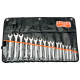 Bahco 111M/17T 6mm - 22mm Flat Combination Wrench Set - 17 Pieces
