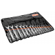 Bahco 111M/17TL 8mm - 32mm Flat Combination Wrench Set - 17 Pieces