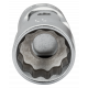 "Bahco A6710DM-13 13mm x 1/4"" Swivel Bi-Hex Socket"