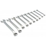 Bahco 1952M/10 8mm - 19mm Offset Combination Wrench Set – 10 Pieces