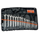 Bahco 1952M/17T 6mm - 22mm Offset Combination Wrench Set – 17 Pieces