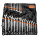Bahco 1952M/26T 6mm - 32mm Offset Combination Wrench Set – 26 Pieces