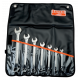 Bahco 1952M/7T 8mm - 22mm Offset Combination Wrench Set – 7 Pieces