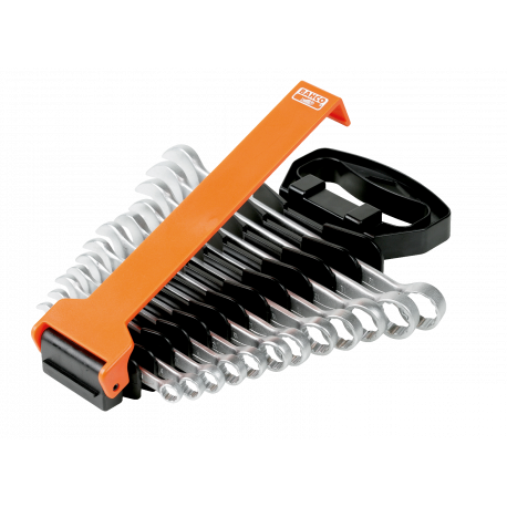 Bahco S20/SH12 Flat Combination Wrench Set – 12 Pieces