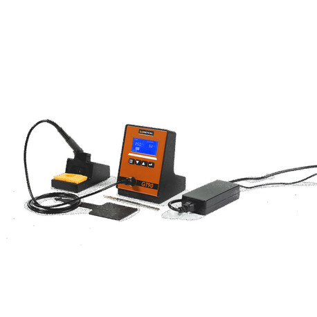 Metcal GT90-HP-T4 GT90 90W Soldering Station with GT-HP–T4UF Hand-piece, GT-HC-T4 Heater, and GT-WS Workstand