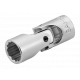 "Bahco A6710DZ-1/4 1/4"" x 1/4"" Swivel Bi-Hex Socket"