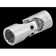 """Bahco A6710DZ-7/16 7/16"""" x 1/4"""" Swivel Bi-Hex Socket"""