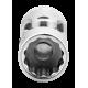 """Bahco A6710DZ-7/32 7/32"""" x 1/4"""" Swivel Bi-Hex Socket"""