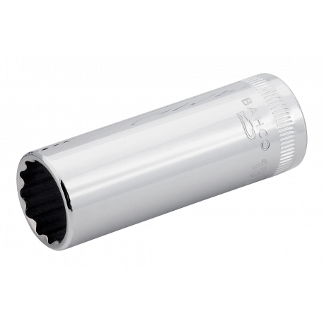 "Bahco A6800DM-12 12mm x 1/4"" Deep Bi-Hex Socket"