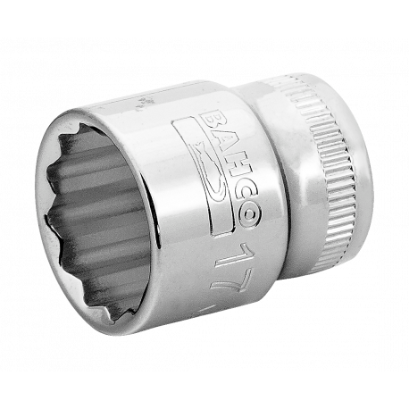 "Bahco A7400DM-17 17mm x 3/8"" Bi-Hex Socket"