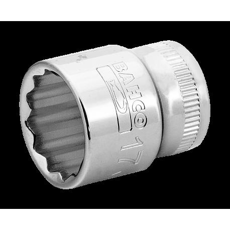 "Bahco A7400DM-18 18mm x 3/8"" Bi-Hex Socket"