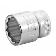 "Bahco A7400DM-19 19mm x 3/8"" Bi-Hex Socket"