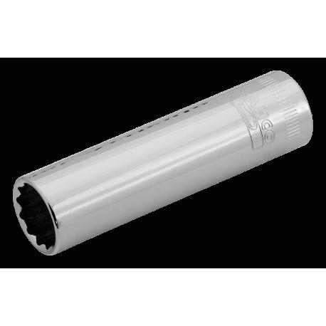 """Bahco A7402DM-8 SOCKET 8mm x 3/8"""" Deep Bi-Hex Socket"""