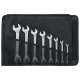 Stahlwille 96400305 6mm - 22mm Double Open-Ended Spanner Set – 8 Pieces
