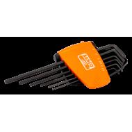 Bahco BE-9586 offset screwdriver set hex long black 9pcs